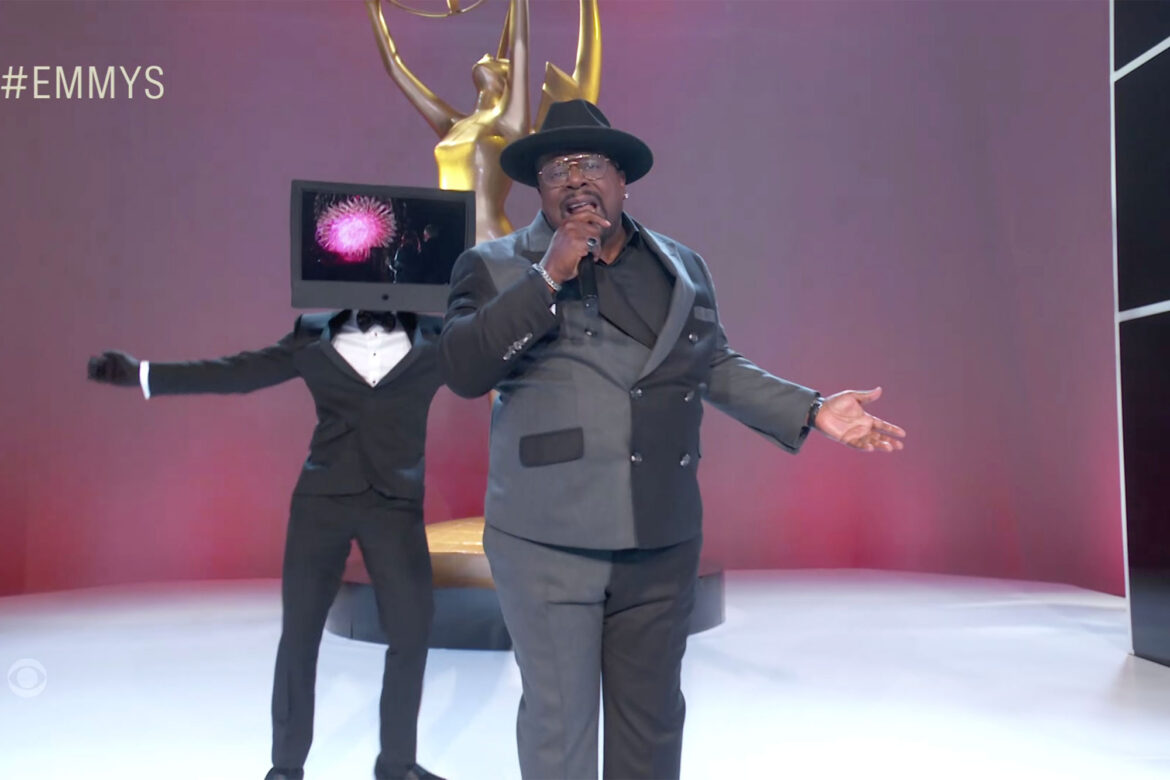 2021 Emmys open strong with Cedric the Entertainer's rap monologue