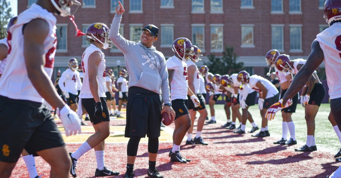 Five things you need to know about new USC interim coach Donte Williams