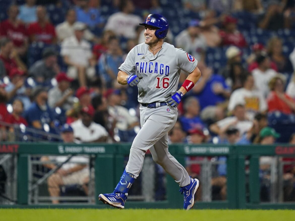 Four-run fourth inning lifts Cubs to 6-3 win over the Phillies