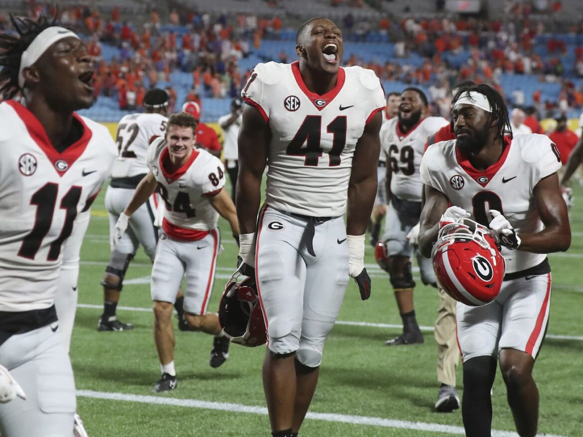 Georgia jumps to No. 2 behind Alabama in new AP poll