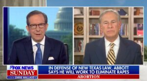 Greg Abbott Won't Support Exception in Abortion Bill for Victims of Rape, Incest