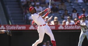 His season could be over, but Jo Adell hopes his everyday Angels role is only beginning