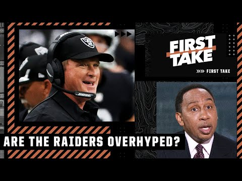 Stephen A. isn't sold on the Raiders: 'This is a big year for Jon Gruden!' | First Take