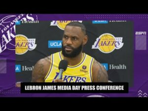 LeBron James Media Day Interview: Russell Westbrook will be 'as dynamic as he's always been'