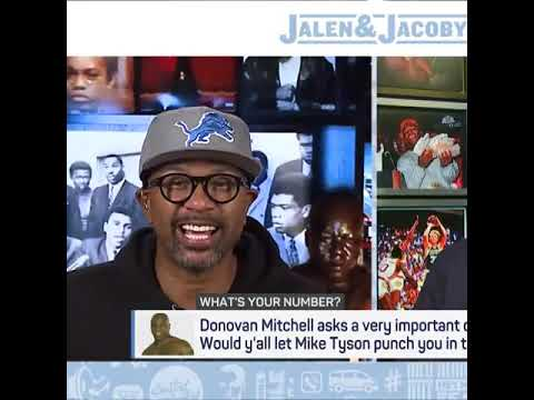 Would you let Mike Tyson punch you in the face for $10M? Jalen Rose answers | #Shorts
