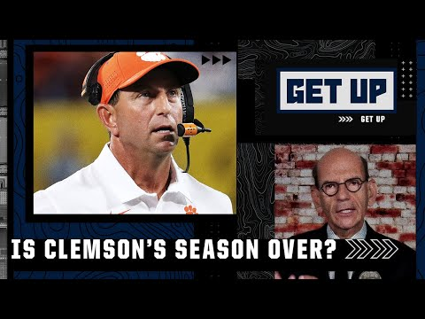 Clemson's season is at 'DEFCON 1' after loss to Georgia – Paul Finebaum | Get Up