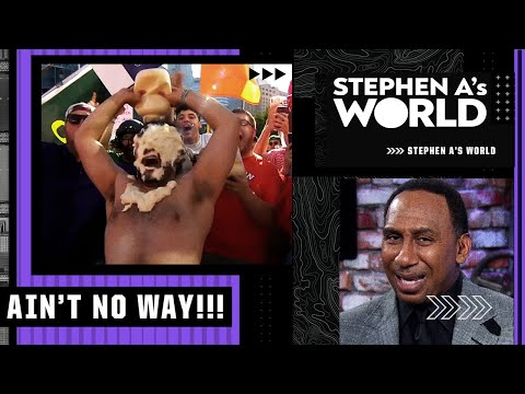 Stephen A. has words for the College GameDay mayo man | Stephen A's World