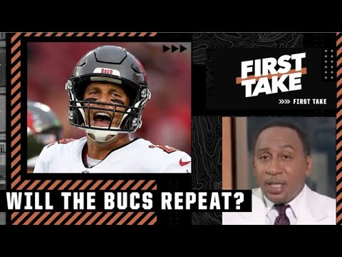Stephen A. tells Keyshawn: This is the GREATEST team in Bucs history if Brady repeats | First Take