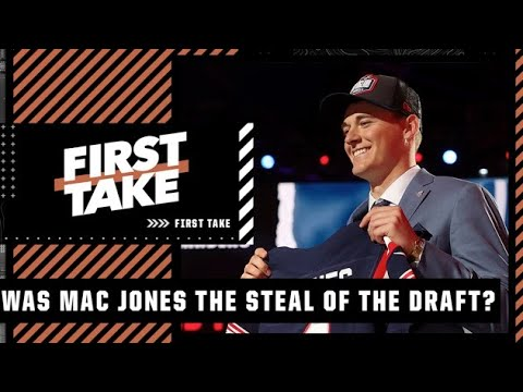 Stephen A. reacts to Drew Brees calling Mac Jones the 'steal of the draft'   First Take