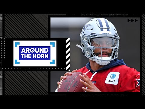 Reacting to Dak Prescott saying he is going to start faster than last year   Around The Horn
