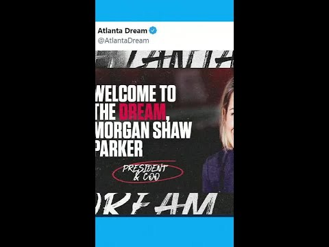 Reacting to the Atlanta Dream announcing Morgan Shaw as the new President and COO   #shorts
