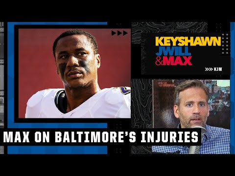 Max says Marcus Peters' injury is the most costly for the Ravens | Keyshawn, JWill and Max