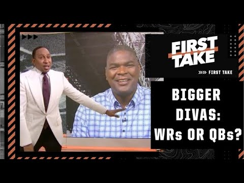 WRs or QBs: Who are the biggest divas in the NFL? First Take debates
