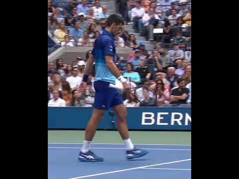 Novak Djokovic was NOT happy after losing this point   #Shorts