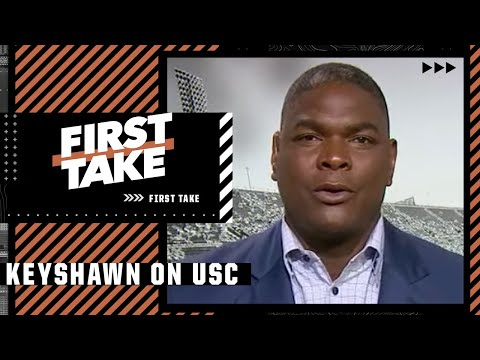 Keyshawn Johnson gives advice to USC after firing Clay Helton 👀 | First Take
