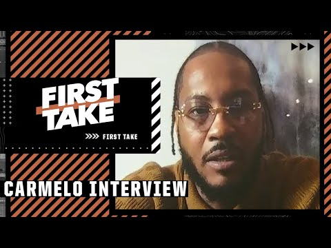 Carmelo Anthony on why he wanted to join the Los Angeles Lakers   First Take
