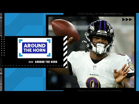 The way the Ravens are going to try to win games this year is 1 vs. 11 👀 – Bomani   Around The Horn