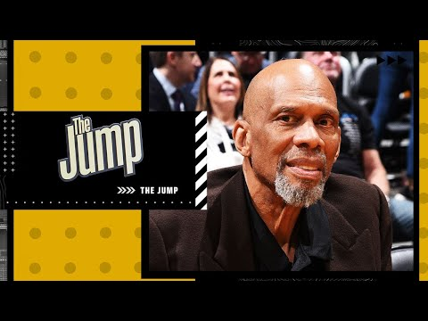 Reacting to Kareem's comments about LeBron James and the scoring title   The Jump