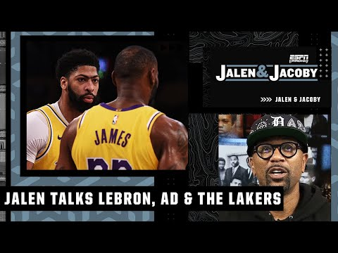 Jalen Rose on the idea of LeBron and AD moving to the 4 & 5 this season | Jalen & Jacoby