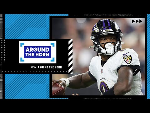 Reacting to Lamar Jackson saying Ravens-Chiefs isn't about him vs Patrick Mahomes | Around The Horn