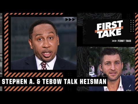 Stephen A. & Tim Tebow debate early Heisman candidates | First Take