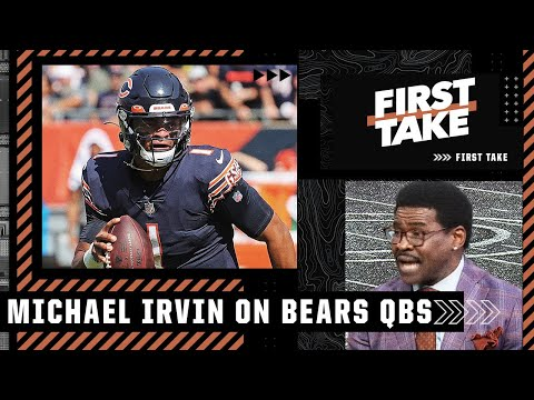 Why Michael Irvin would start Foles over Fields if Dalton can't go   First Take