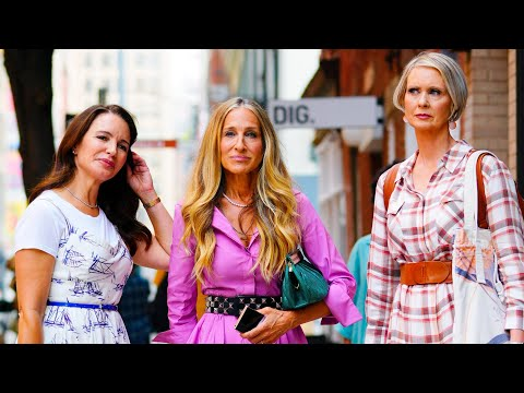 """""""Sex and the City"""" Reboot Teaser Shows Carrie & Big Kiss"""