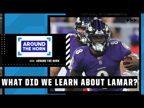 What did we learn about Lamar Jackson in his win over the Chiefs? | Around The Horn