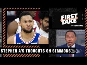 Ben Simmons is in the wrong, but the 76ers' hands aren't clean either! – Stephen A. | First Take