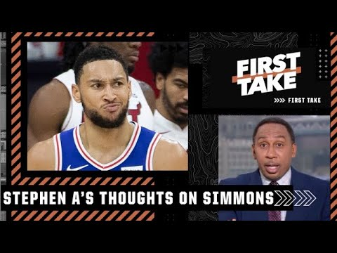 Ben Simmons is in the wrong, but the 76ers' hands aren't clean either! – Stephen A.   First Take