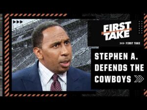 Stephen A. is forced to DEFEND THE COWBOYS thanks to Damien Woody's BLASPHEMOUS take | First Take