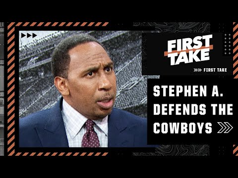 Stephen A. is forced to DEFEND THE COWBOYS thanks to Damien Woody's BLASPHEMOUS take   First Take