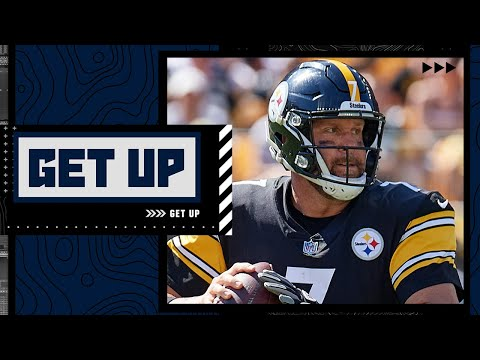 Can Ben Roethlisberger last to the end of the season taking so many hits?   Get Up