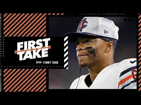 Are the Bears making a mistake not starting Justin Fields? First Take debates