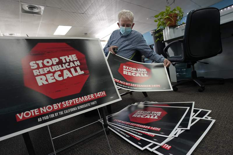 Democrats could change 'weaponized' California recall system