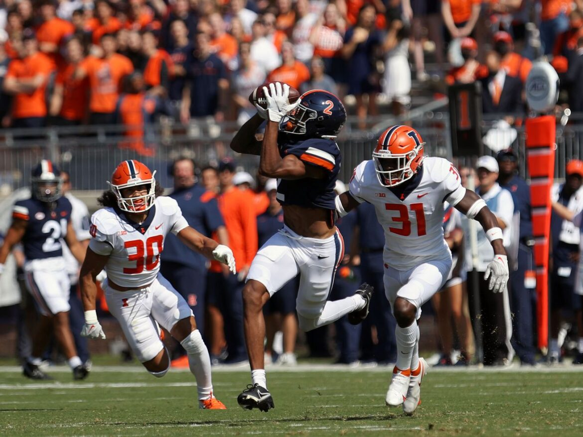 Illini can't slow down high-flying Cavaliers in road loss