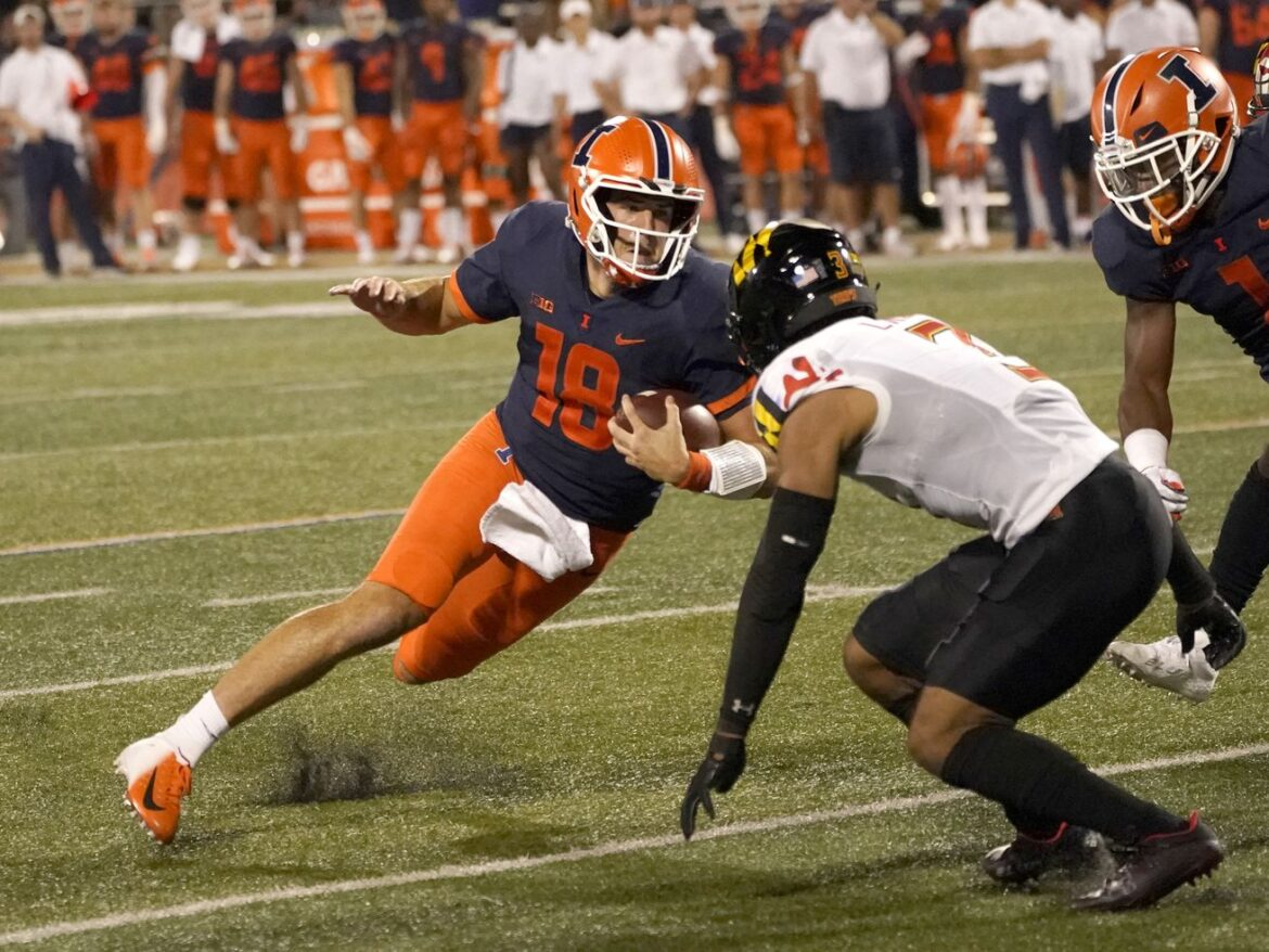 Illinois, Purdue are both dealing with quarterback questions
