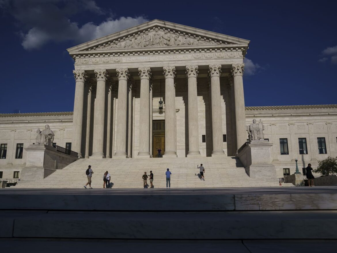 In-person arguments resume at Supreme Court