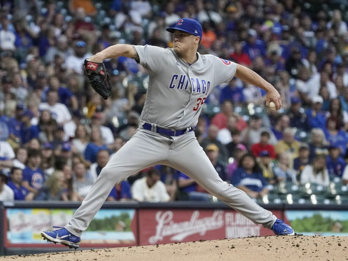 Justin Steele reflects on first season with the Cubs