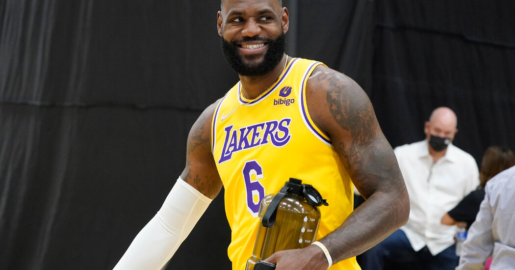 LeBron James Says He Had Been Vaccinated Against Covid