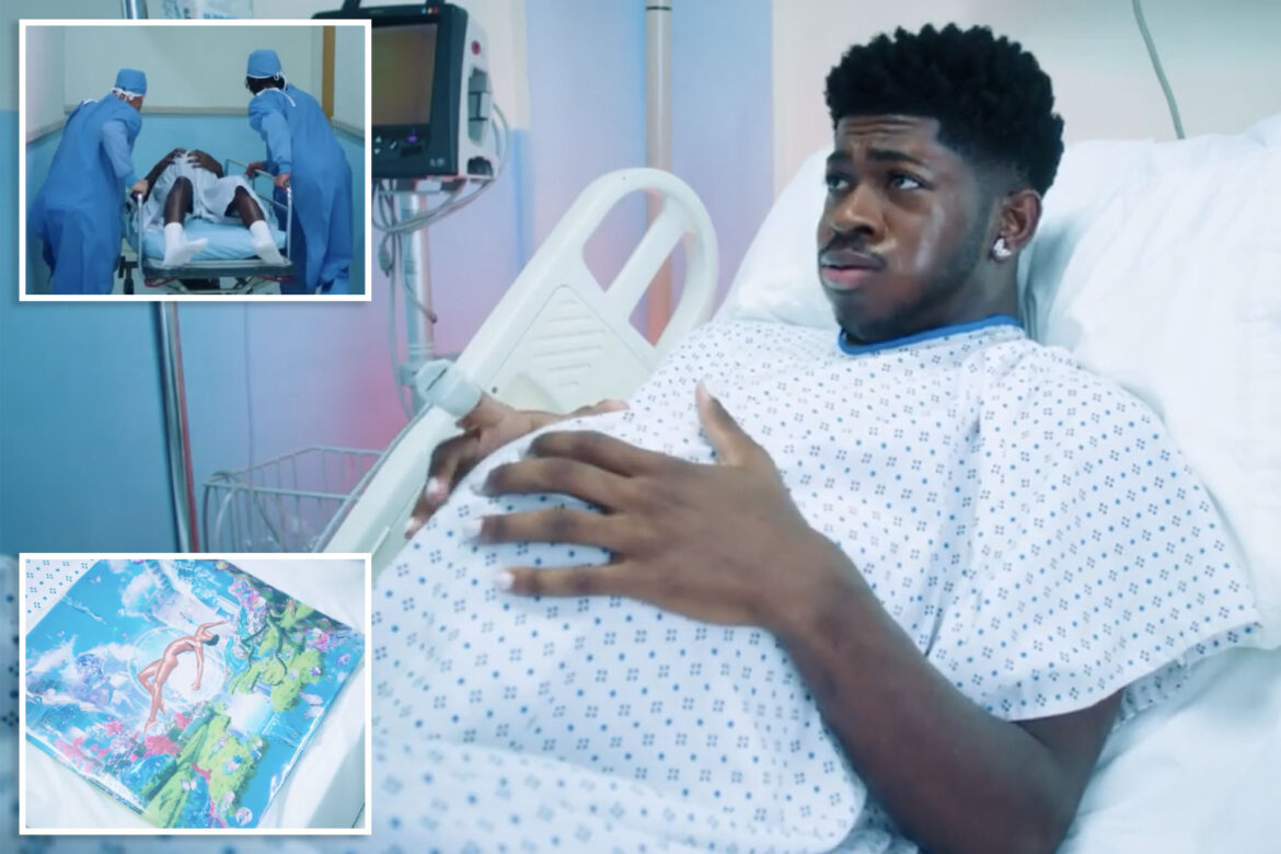 Lil Nas X shares hospital footage of him giving 'birth' to 'Montero'