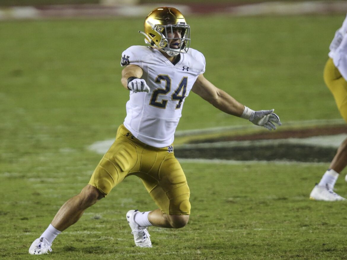 Loyalty test: Notre Dame's Jack Kiser comes from a Purdue family
