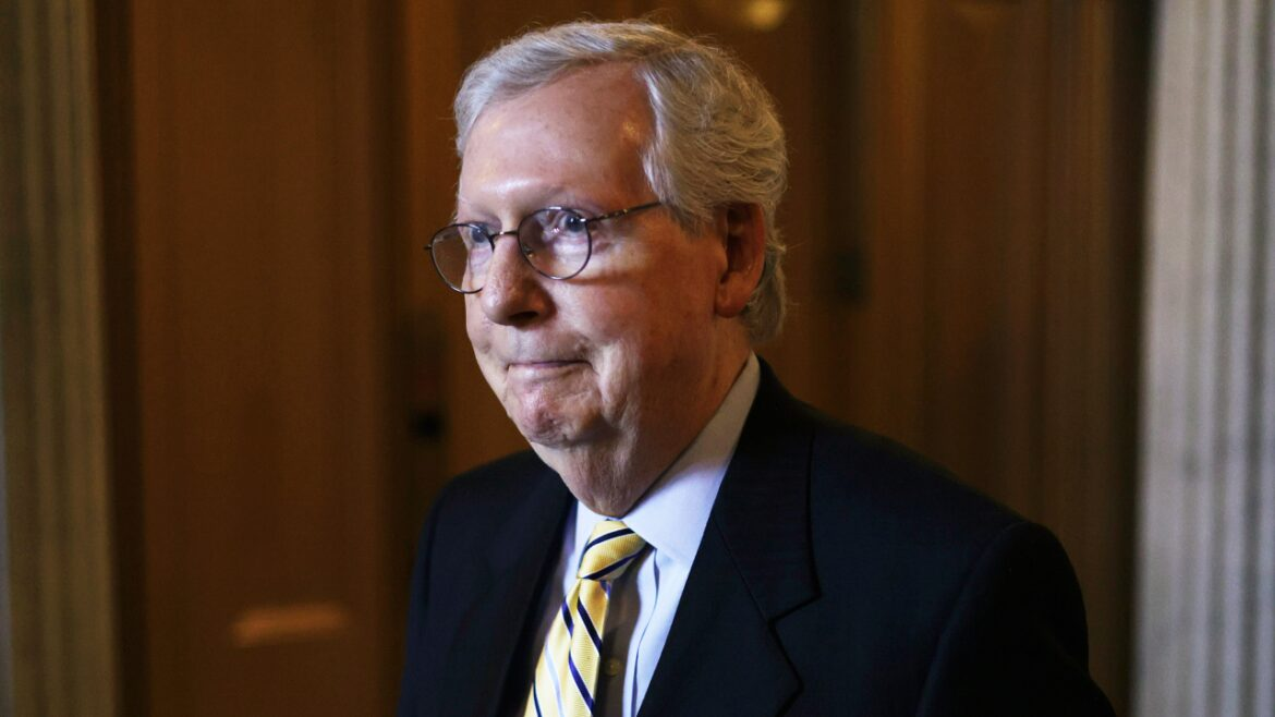 McConnell says Biden impeachment over Afghanistan will not happen