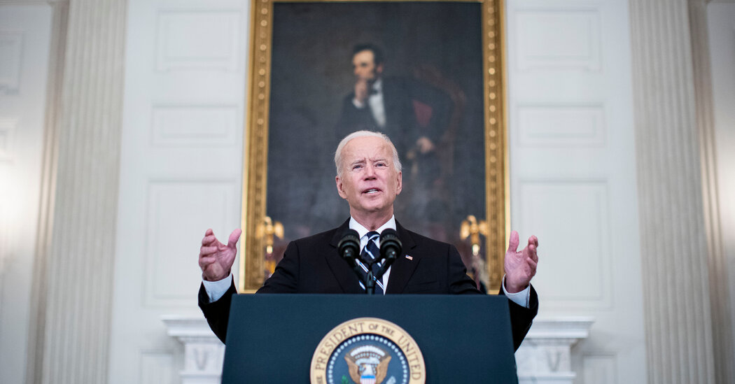 Biden Mandates Vaccines for Workers, Saying, 'Our Patience Is Wearing Thin'