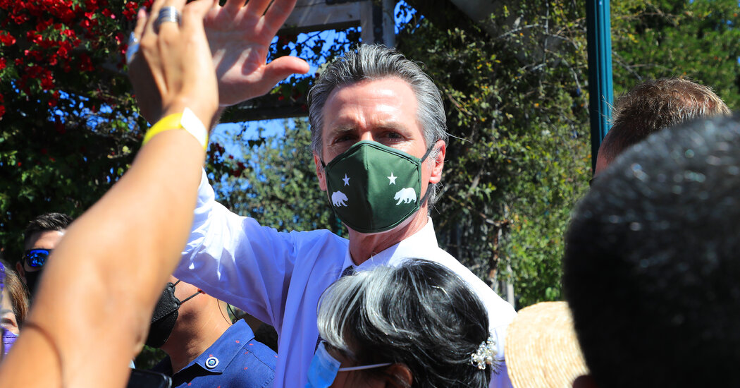California's Governor Says Two of His Children Tested Positive for the Coronavirus