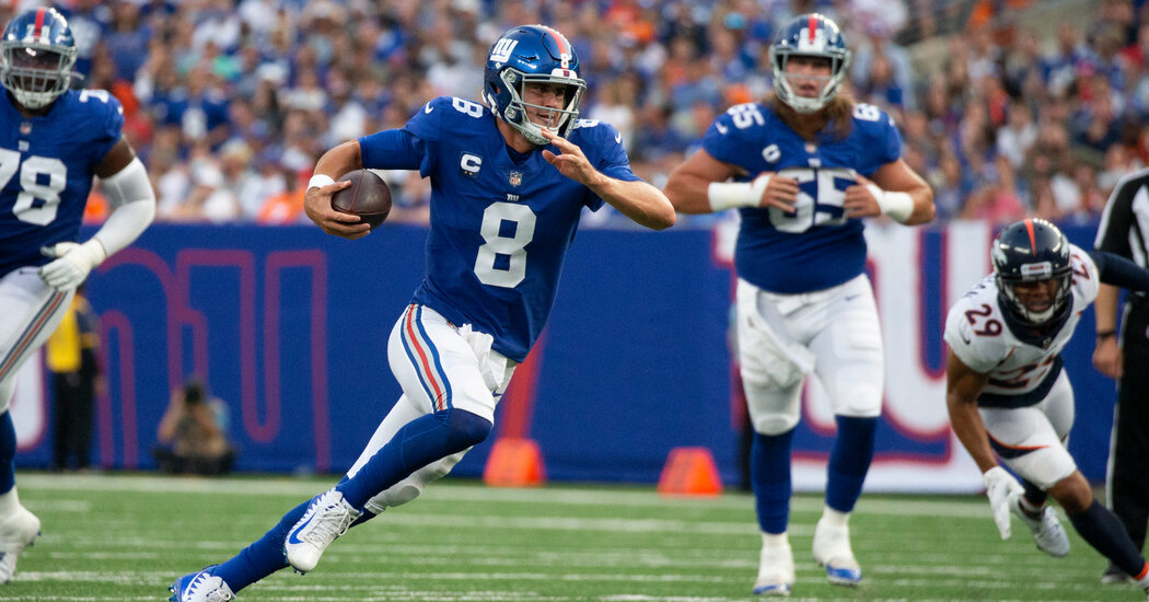 N.F.L. Week 2 Predictions: Our Picks Against the Spread