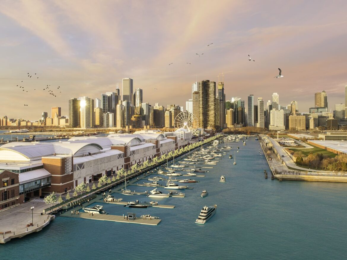 Navy Pier Marina update: Suit filed because of a permit denied by the city for marina construction