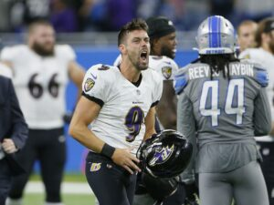 NFL-record 66-yard field goal lifts Ravens to 19-17 win over Lions