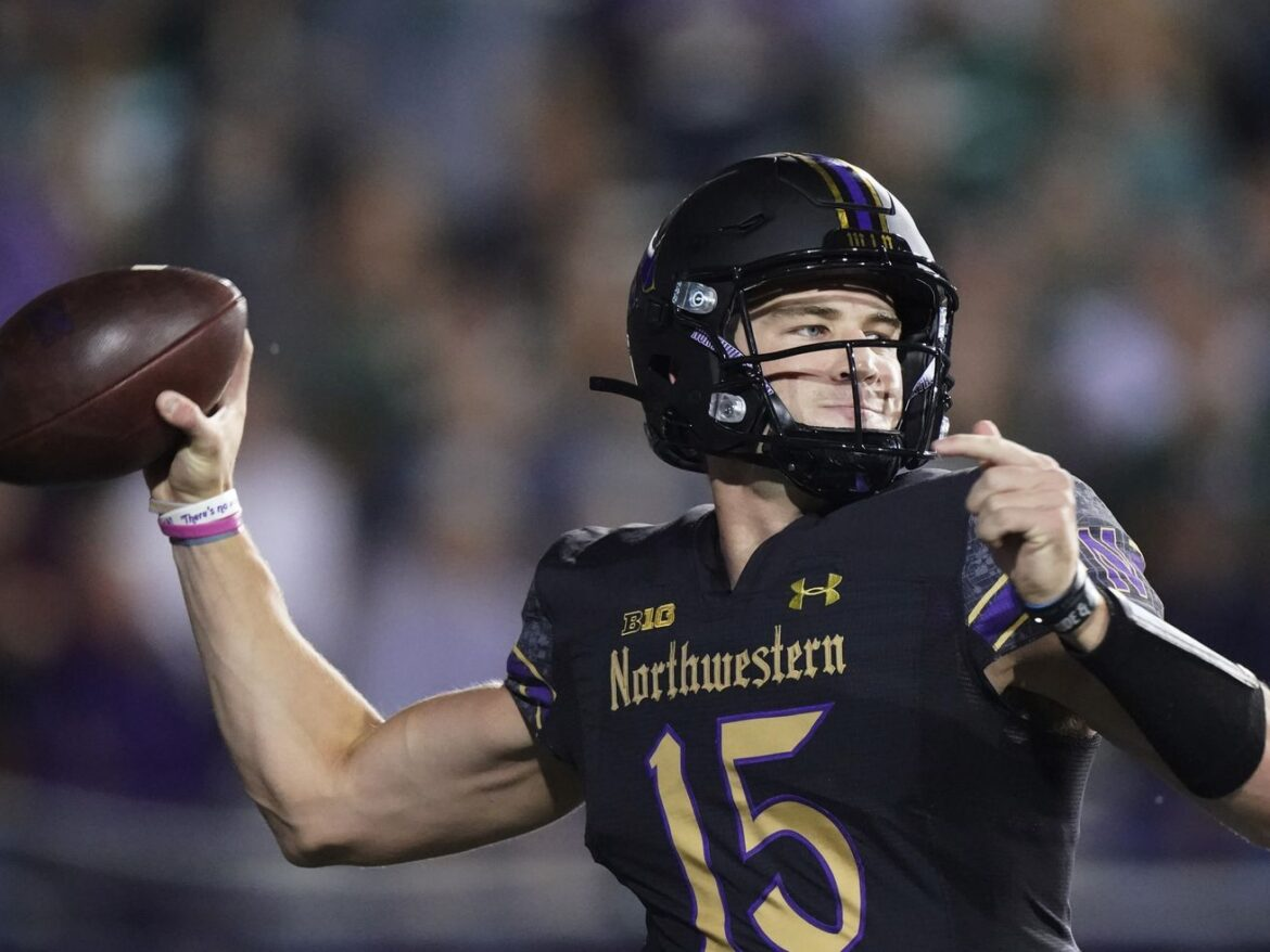 Northwestern is 0-1, but QB Hunter Johnson is back from the abyss — and that's a good start