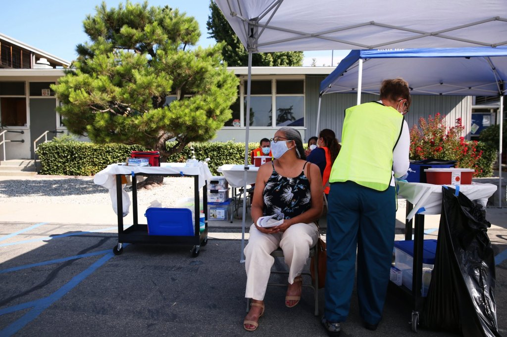LA County sees substantial drop in COVID-19 hospitalizations – nearly 100 from previous day